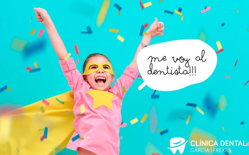 Consejos para padres ante una visita al dentista