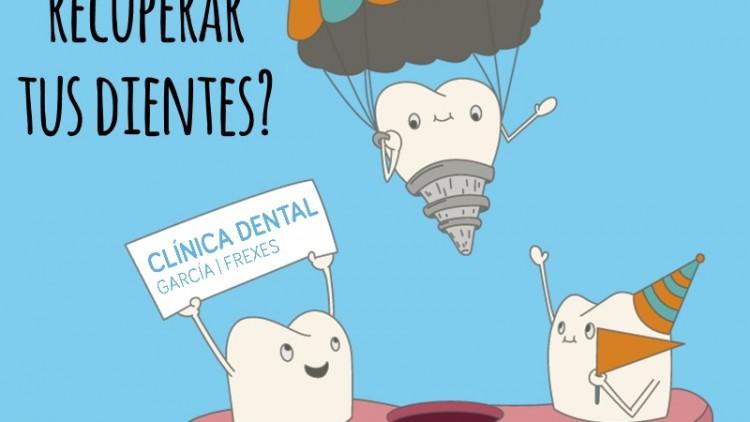 ¿Que opciones tengo para recuperar mis dientes?